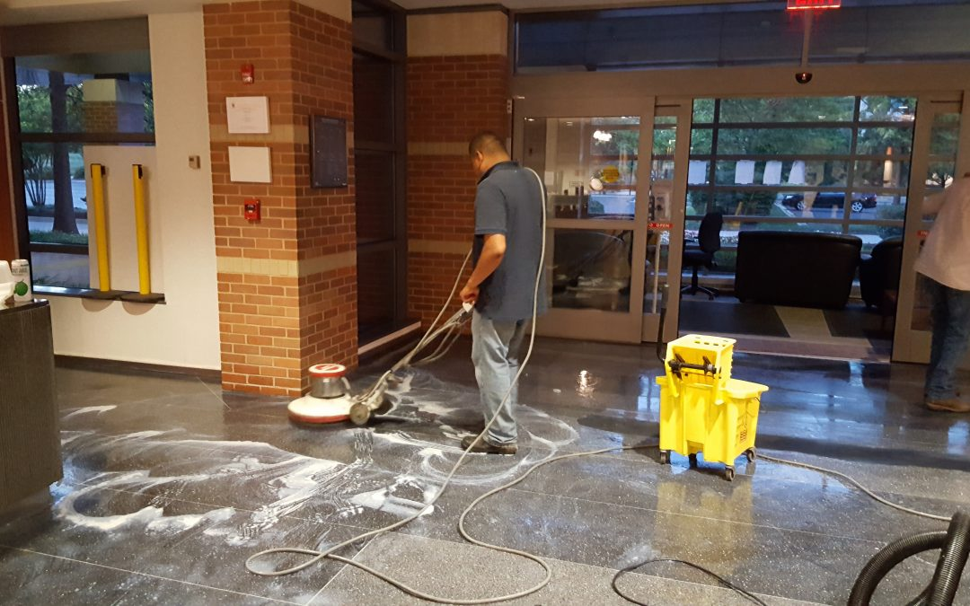 Our Floor Buffing Process