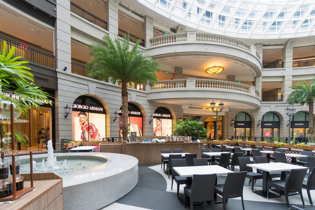 mall, plaze, shopping, center, cleaning, janitorial